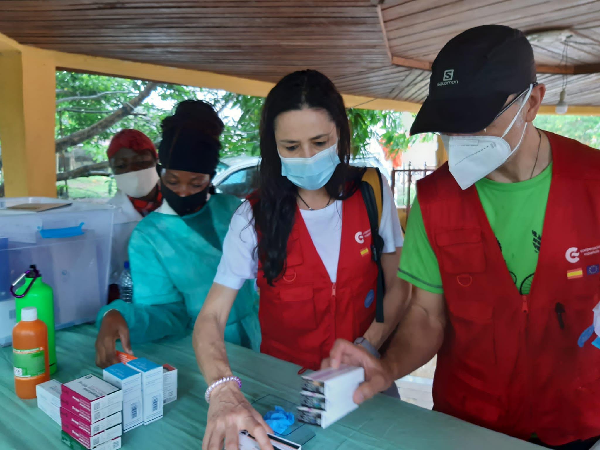 El equipo START de Acción Humanitaria de la Cooperación Española continúa desplegado en la ciudad de Bata