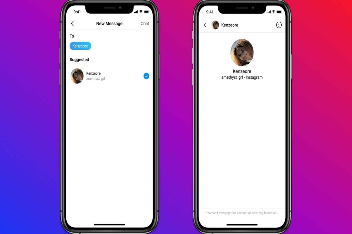 Instagram evitará que adultos envíen mensajes a menores de edad