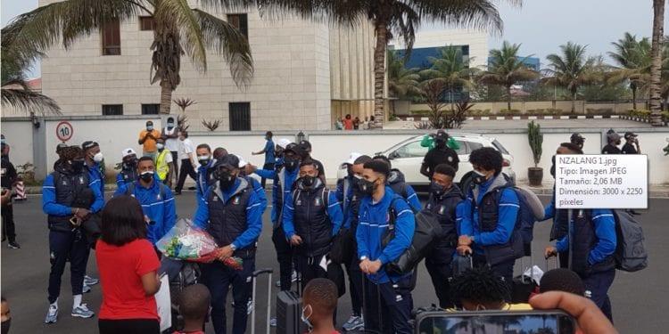 Los Nzalang Boys, ya están en el país, para hacer historia el próximo jueves ante Tanzania