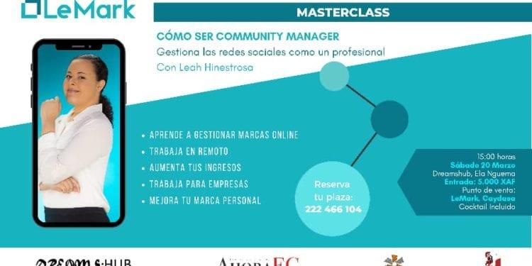 Participa a la Masterclass sobre cómo gestionar las Redes Sociales como un profesional