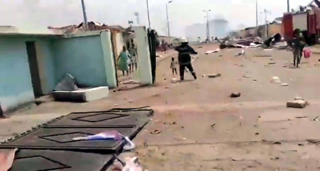 Minuto a minuto sobre las explosiones en la ciudad de Bata