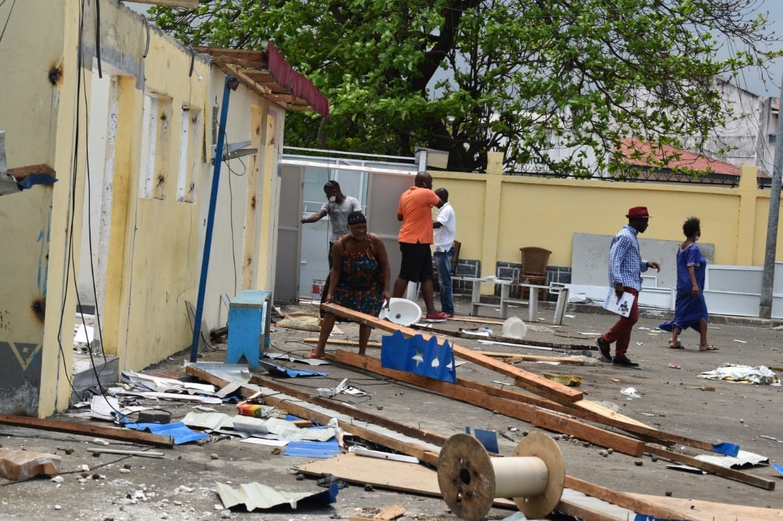 Última hora: el Hotel Tropicana de Malabo se convierte en un botín para transeúntes