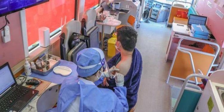 Beijing despliega vehículos móviles de vacunación para acelerar el ritmo de vacunación