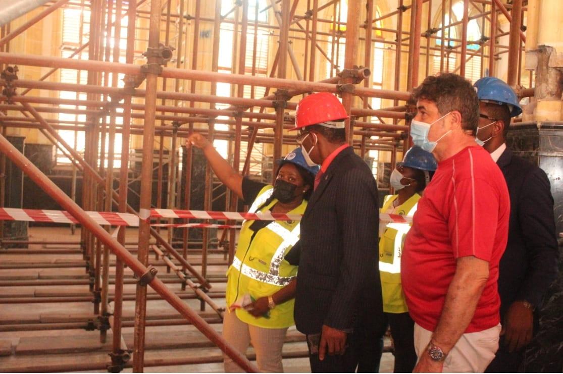 La Catedral de Malabo podría ser reinaugurada en la festividad de Santa Isabel, el 17 de noviembre del 2021