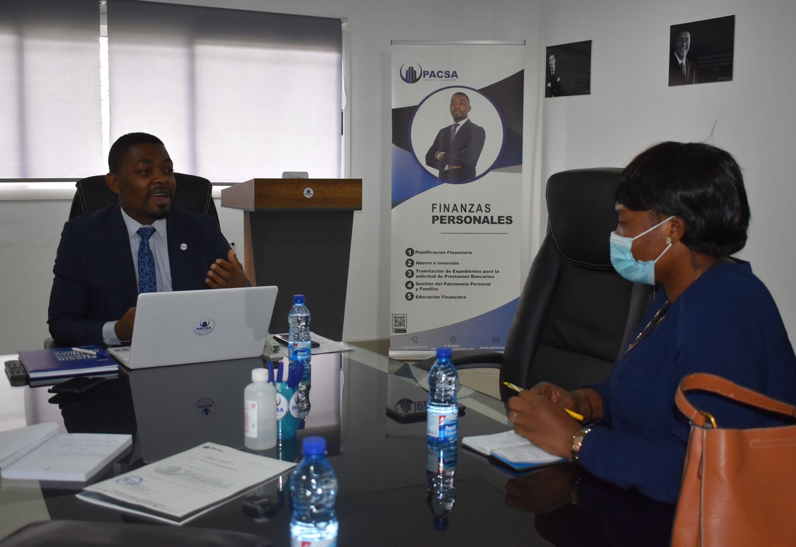 """Santiago Obiang Miko: """"PACSA es una alternativa real para las empresas que ofrecen servicios de asesoramiento financiero"""""""