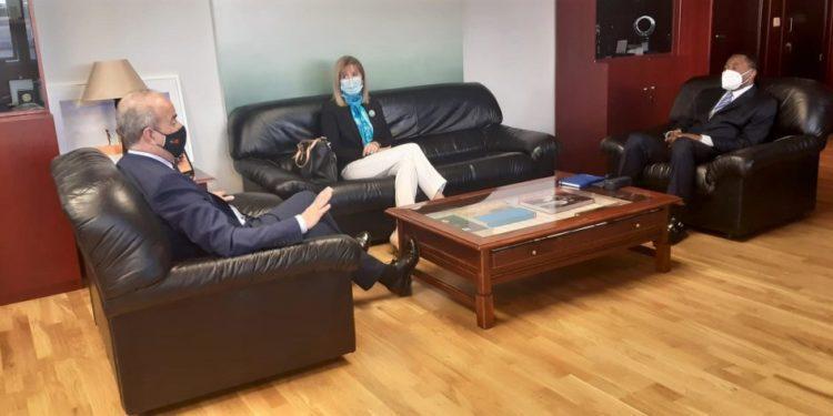 El Embajador Miguel Edjang Angue solicita apoyo para la creación de una casa de cultura ecuatoguineana en España