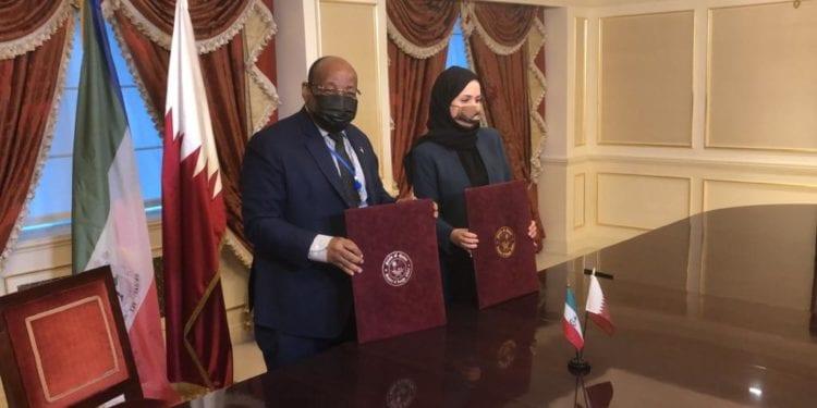 Guinea Ecuatorial y Qatar firman el acuerdo de establecimiento de las Relaciones Diplomáticas