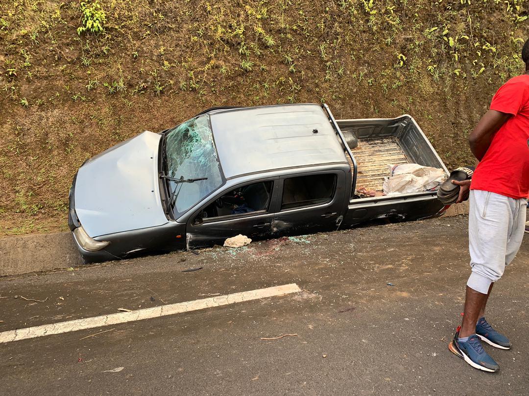 ÚLTIMA HORA: al menos dos muertos y varios heridos en un accidente de circulación en la ruta Moka-Riaba