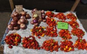 Los mercados de Malabo atraviesan una crisis de ingredientes
