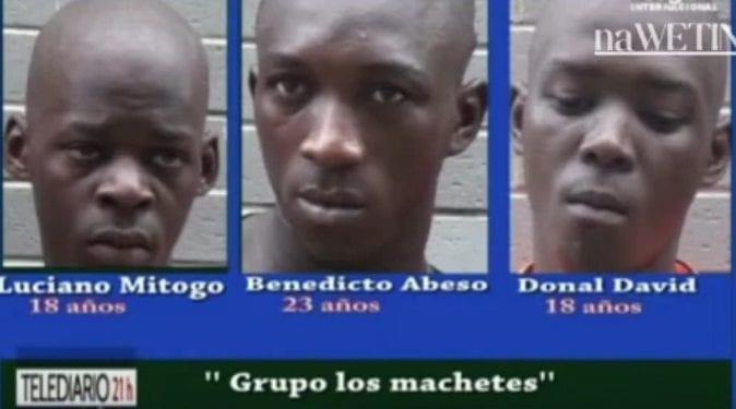 """La Gendarmería Nacional pone a disposición judicial a 3 miembros de la banda denominada """"los machetes"""""""