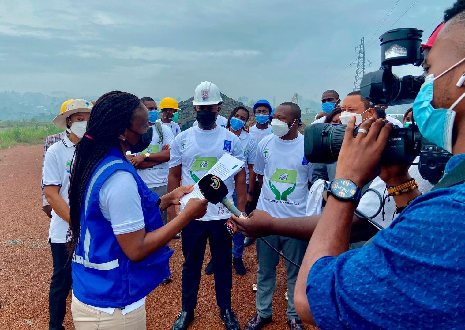Lanzamiento del Proyecto de Evaluación de Daños Edificios y Hogares Nkuantoma