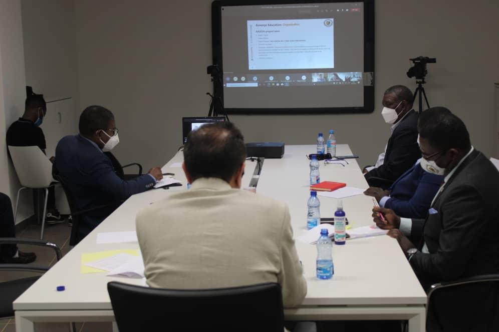 AAUCA: El nuevo Rector pone de relieve las negociaciones que está realizando para la internalización de la universidad de Djibloho