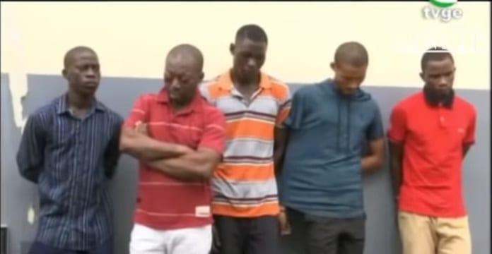 En Malabo, varios detenidos por presunto robo con arma de fuego