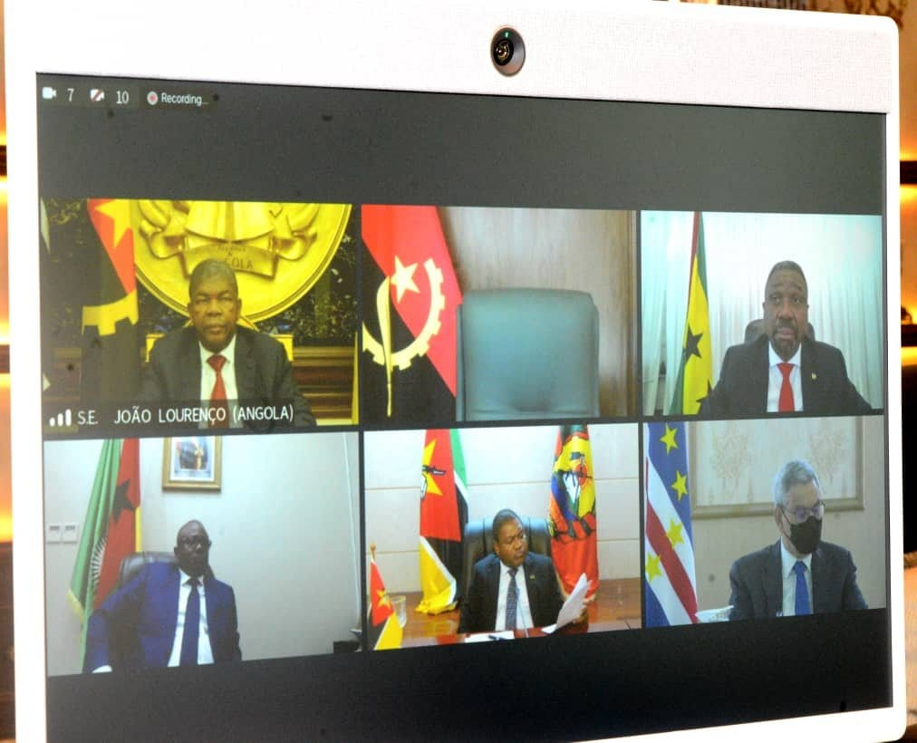 Obiang Nguema Mbasogo asiste al Foro Virtual de Países Africanos de la Lengua Oficial Portuguesa