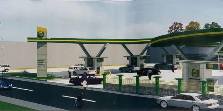 GEPetrol Servicios planta la primera piedra de una nueva gasolinera en Nkoantoma-Bata