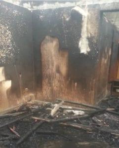 Al menos 14 viviendas han quedado carbonizadas en un incendio declarado en el barrio Semu de Malabo