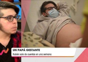 """Rubén Castro, el primer hombre embarazado de España: """"Estoy teniendo muchas dificultades"""""""