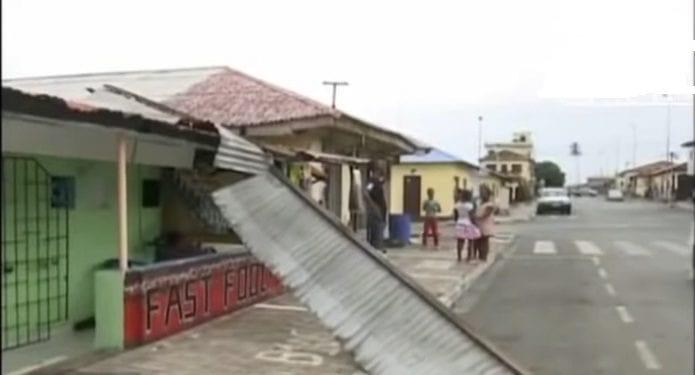 Alarma de un temporal brutal en Malabo