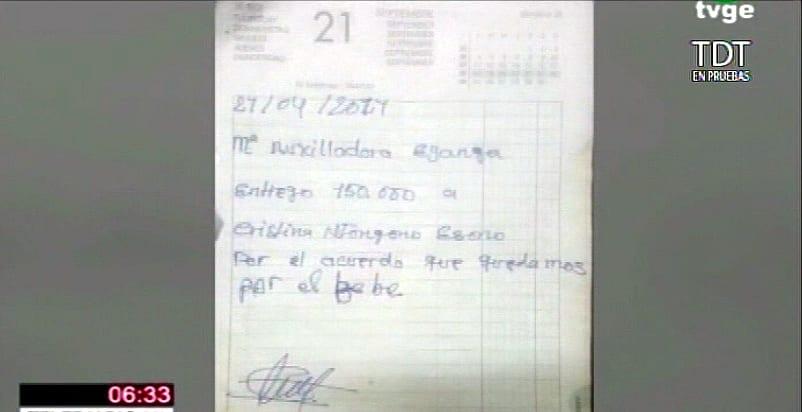 Una joven vende a su bebé por un valor de 970.000 Xfas