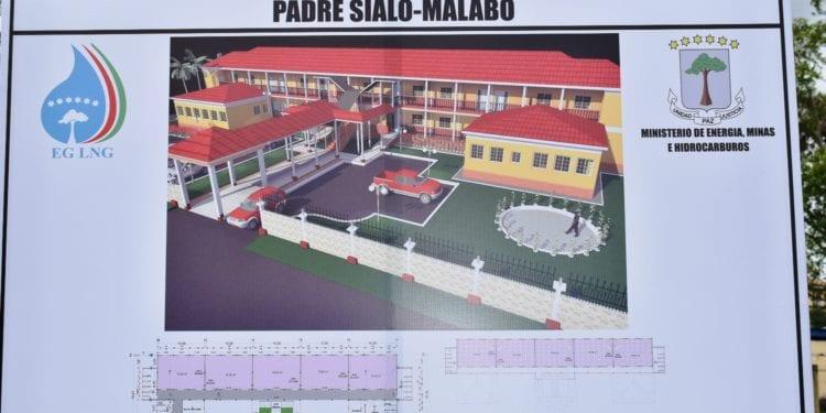La empresa EG LNG financia la construcción del colegio Claret II-Padre Sialo en el casco urbano de Malabo