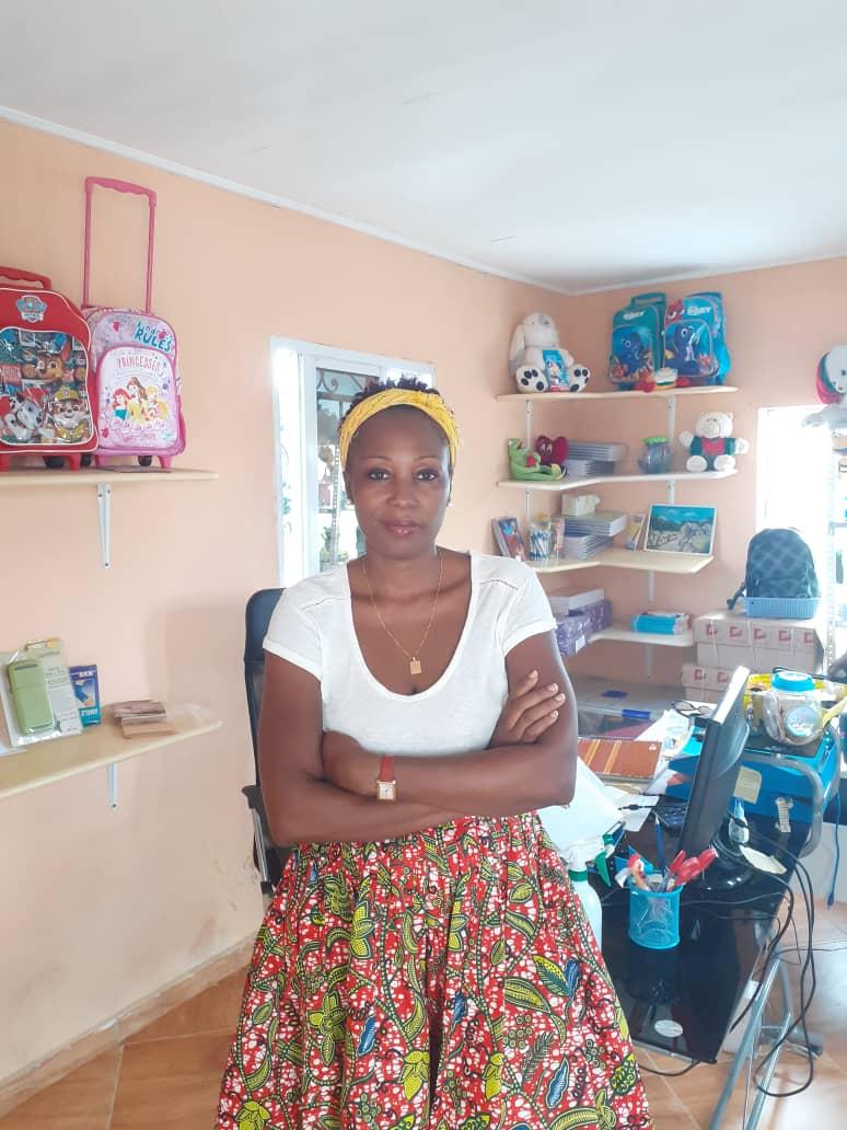 """""""Es bueno soñar y perseguir tus sueños, porque se pueden hacer realidad"""": Maria del Carmen Abessolo Okenve"""