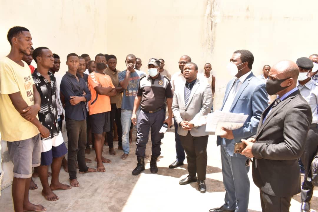 Derechos Humanos inicia una gira de inspección de lucha contra las detenciones arbitrarias y arrestos ilegales