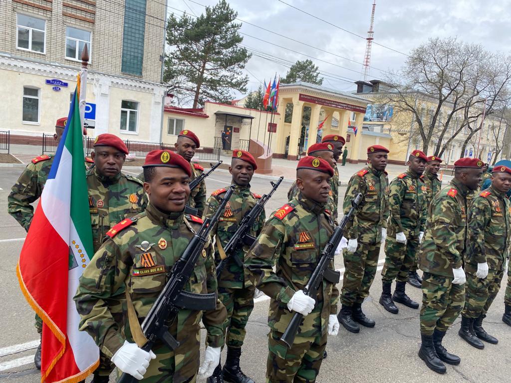 Guinea Ecuatorial presente en la celebración del 76 aniversario del día de la Victoria rusa