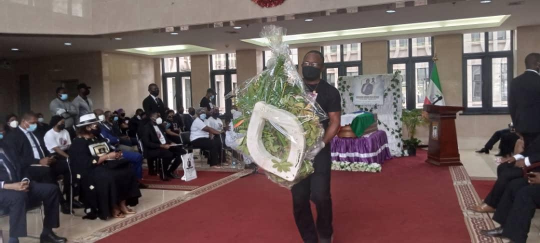 Asuntos Exteriores brinda un homenaje al diplomático Ecuatoguineano Eduardo Ndong Elo Nzang