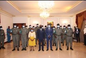 Guinea Ecuatorial condecora a los médicos congoleños con la medalla de plata de la orden de la independencia