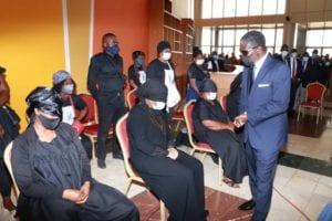 Funeral de Estado de Pedro Ndong Obiang, General de División y Consejero a la Presidencia encargado de Seguridad Presidencial