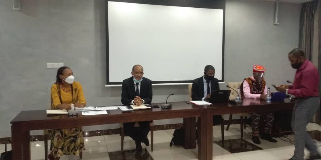 Bindang Ndong Okiri clausura el seminario de capacitación a periodistas sobre el periodismo económico