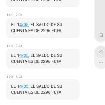 El servicio de sms bancario en G.E se convierte en un quebradero de cabeza para los clientes