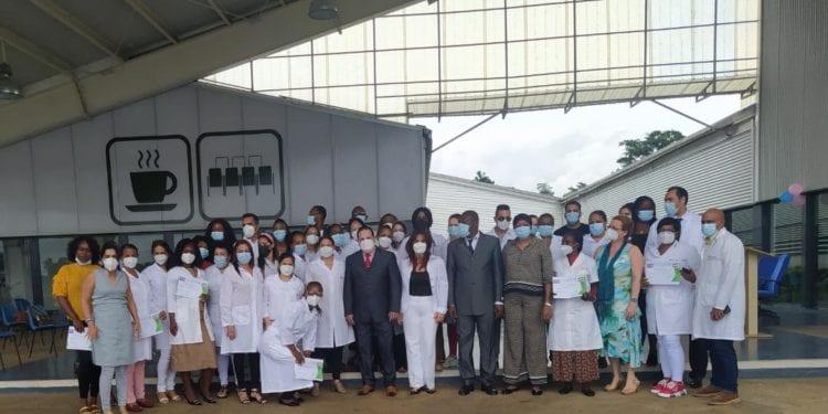 Reconocimiento a las enfermeras del hospital de Sampaka por el Dia Mundial de la Enfermería 2021