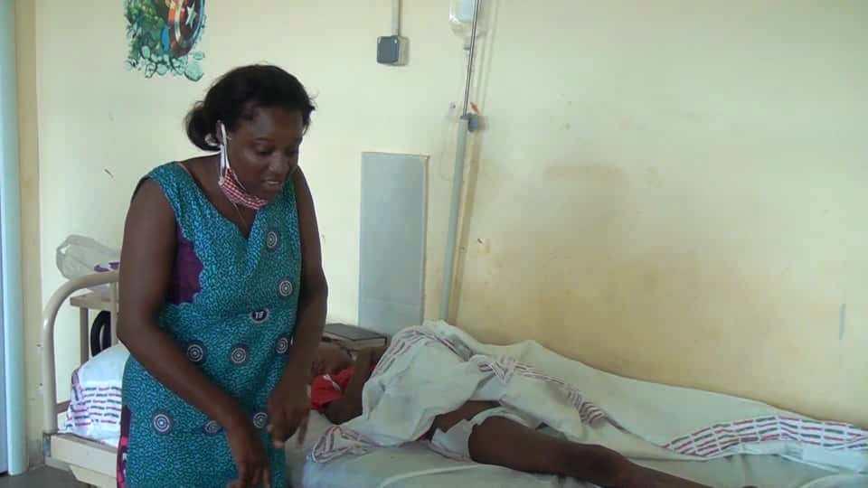 Una niña de 10 años pierde la pierna izquierda tras jugar con sus amigos en el barrio María Cano-Sampaka