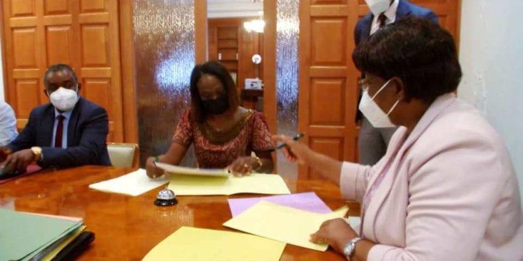 Firma de acuerdos entre el Gobierno de Guinea Ecuatorial y el PNUD