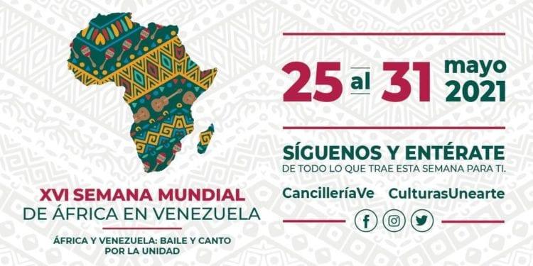 VII Festival Cultural con los Pueblos de África - Venezuela 2021