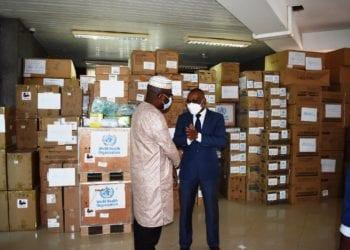 La OMS dona material contra la Covid-19 a sanidad y ofrece dos vehículos al Programa Ampliado de Vacunación