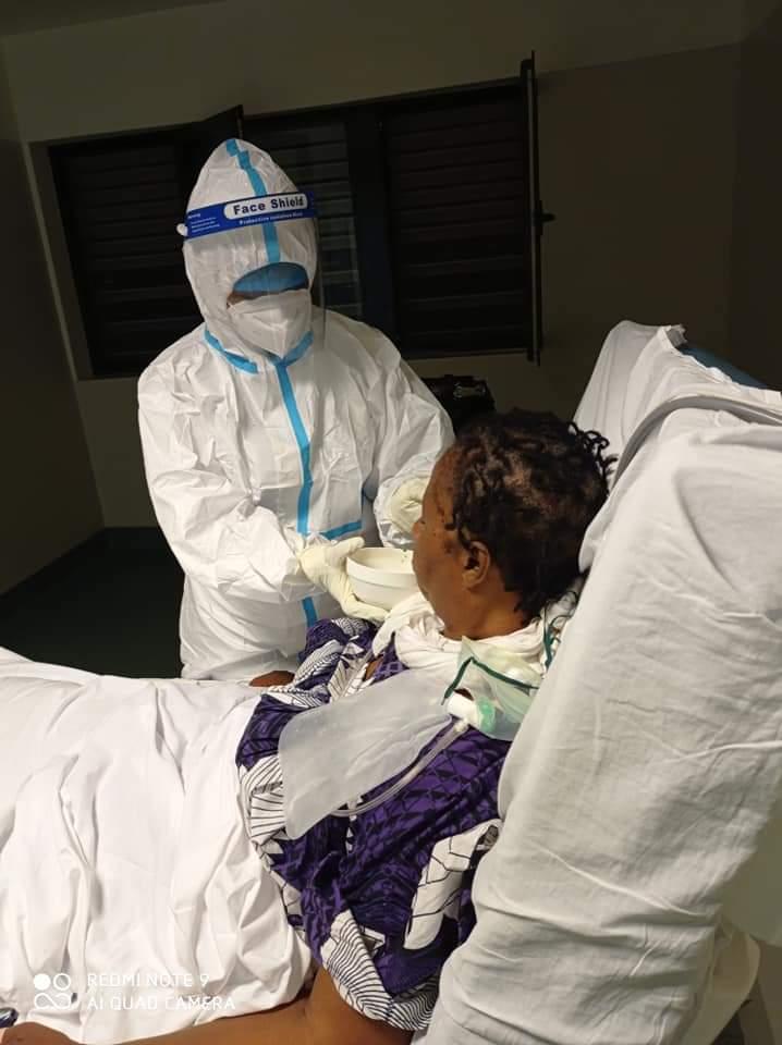 Fallece en Bata la enfermera cubana Isabel Bencomo Blens de la Brigada Henry Revee