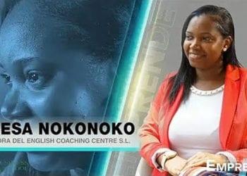 Vanesa Nokonoko fundadora de English Coaching Centre S.L.