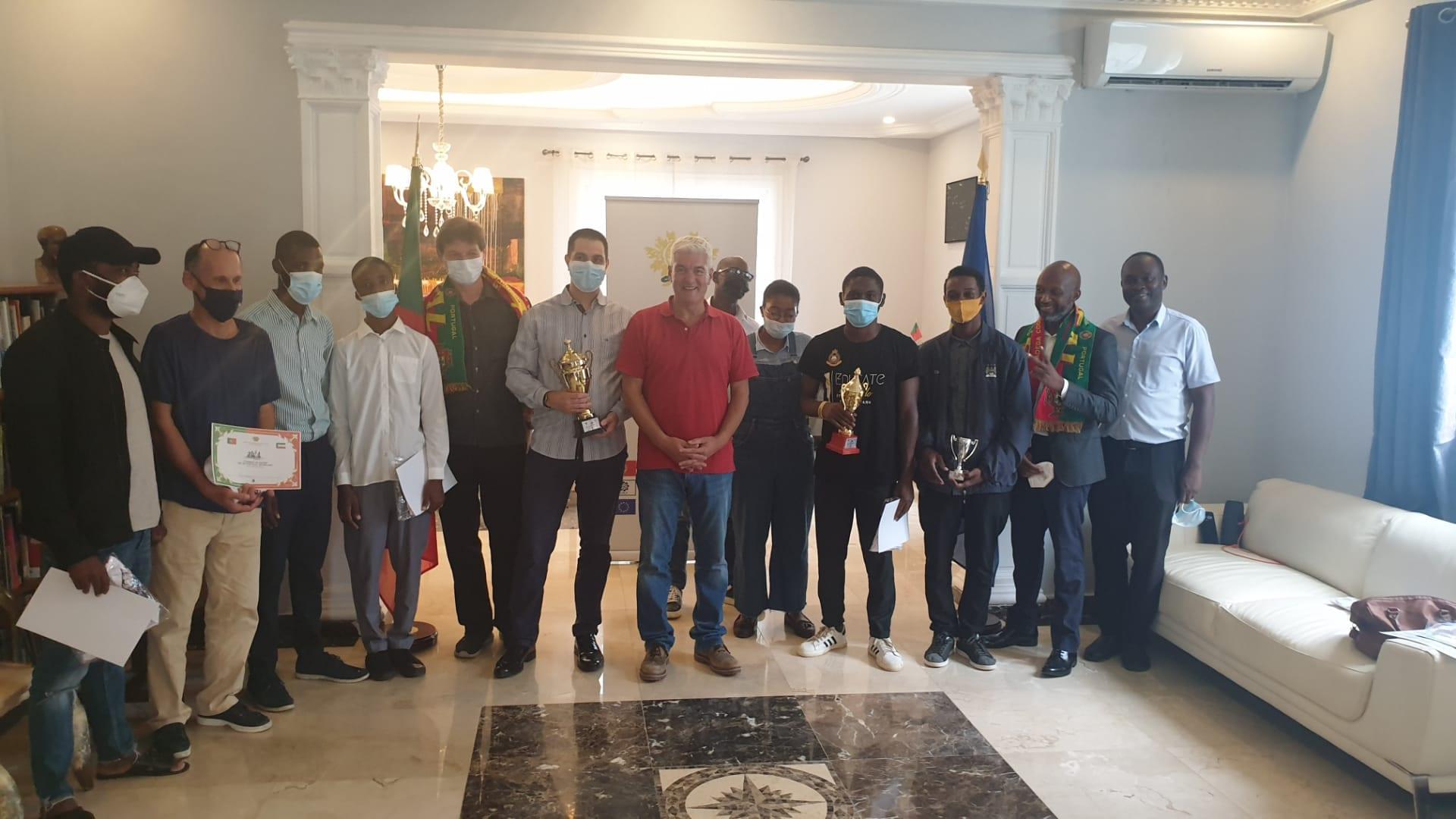 La Embajada de Portugal organiza un torneo de ajedrez