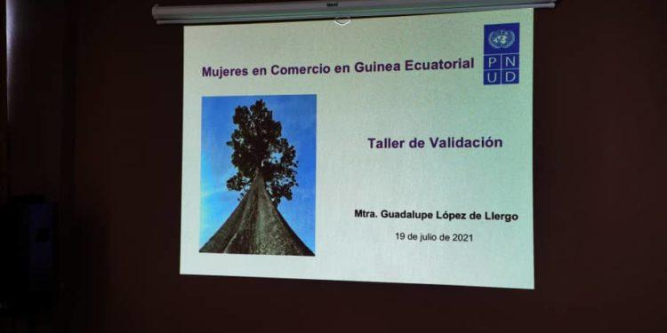 PNUD organiza un seminario Taller de validación sobre las mujeres en comercio en Guinea Ecuatorial
