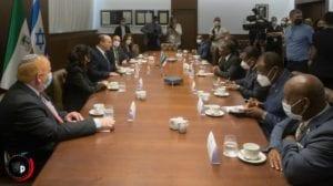 Teodoro Nguema Obiang Mangue se reúne con el Primer Ministro de Israel