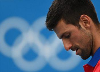 A Novak Djokovic le entra el 'mal olímpico'