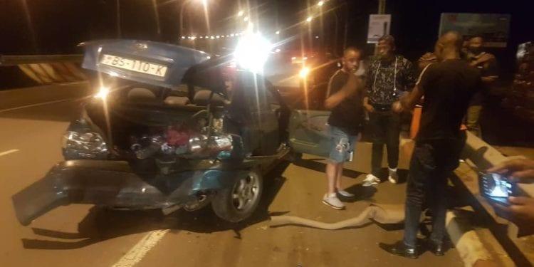 Un accidente de circulación en la autovía de Malabo: heridos uno de los conductores y su mujer