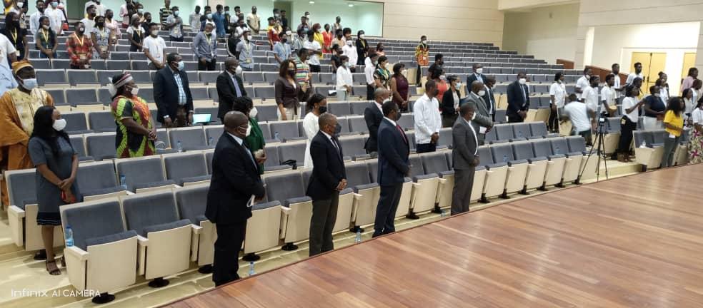 La Universidad Afroamericana de África Central (AAUCA) clausura el curso académico 2020-2021