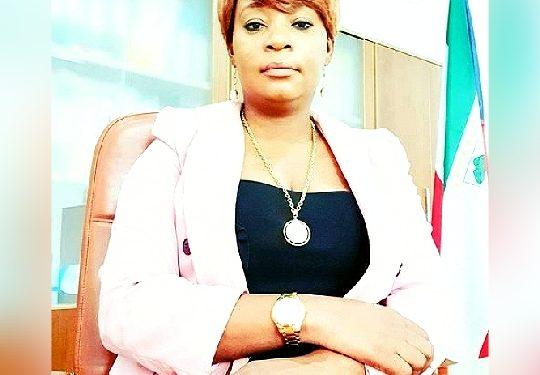 Asi es Judith Nfono Ngomo, la nueva Secretaria General Adjunta Segunda del PDGE