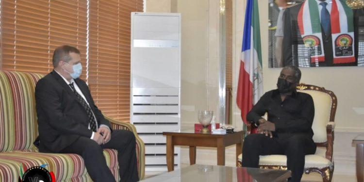 Rusia presenta su interés de instalar una embajada en Guinea Ecuatorial