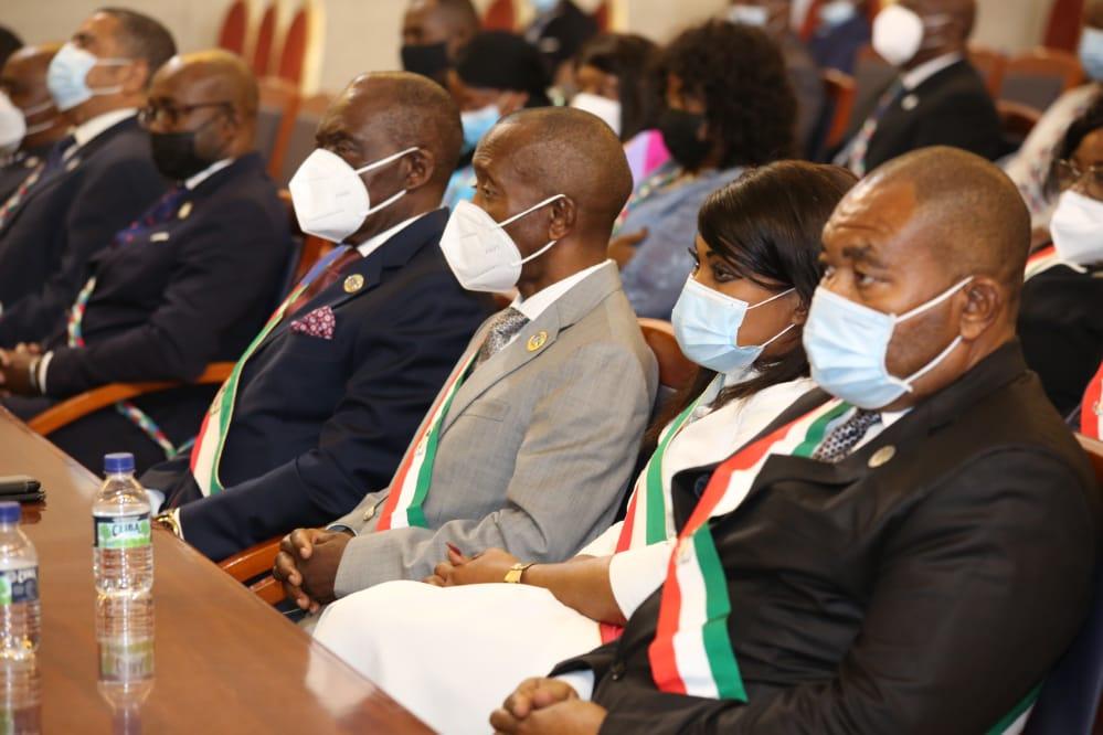 El Presidente de la República apertura las Sesiones Parlamentarias después de dos años