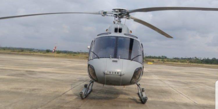Un helicóptero de la armada francesa aterriza en el aeropuerto de Bata sin autorización de la autoridad aeronáutica