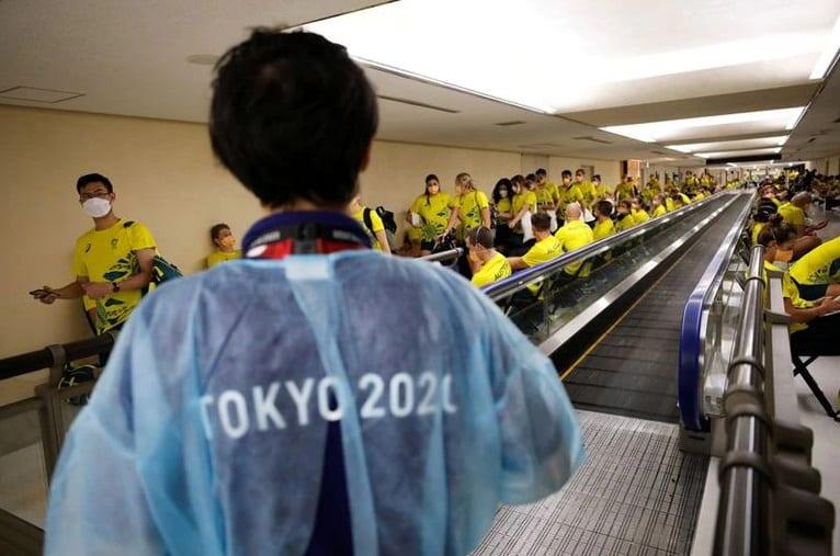 Tokio: Los deportistas son sometidos a pruebas diarias como parte de las medidas de control de coronavirus